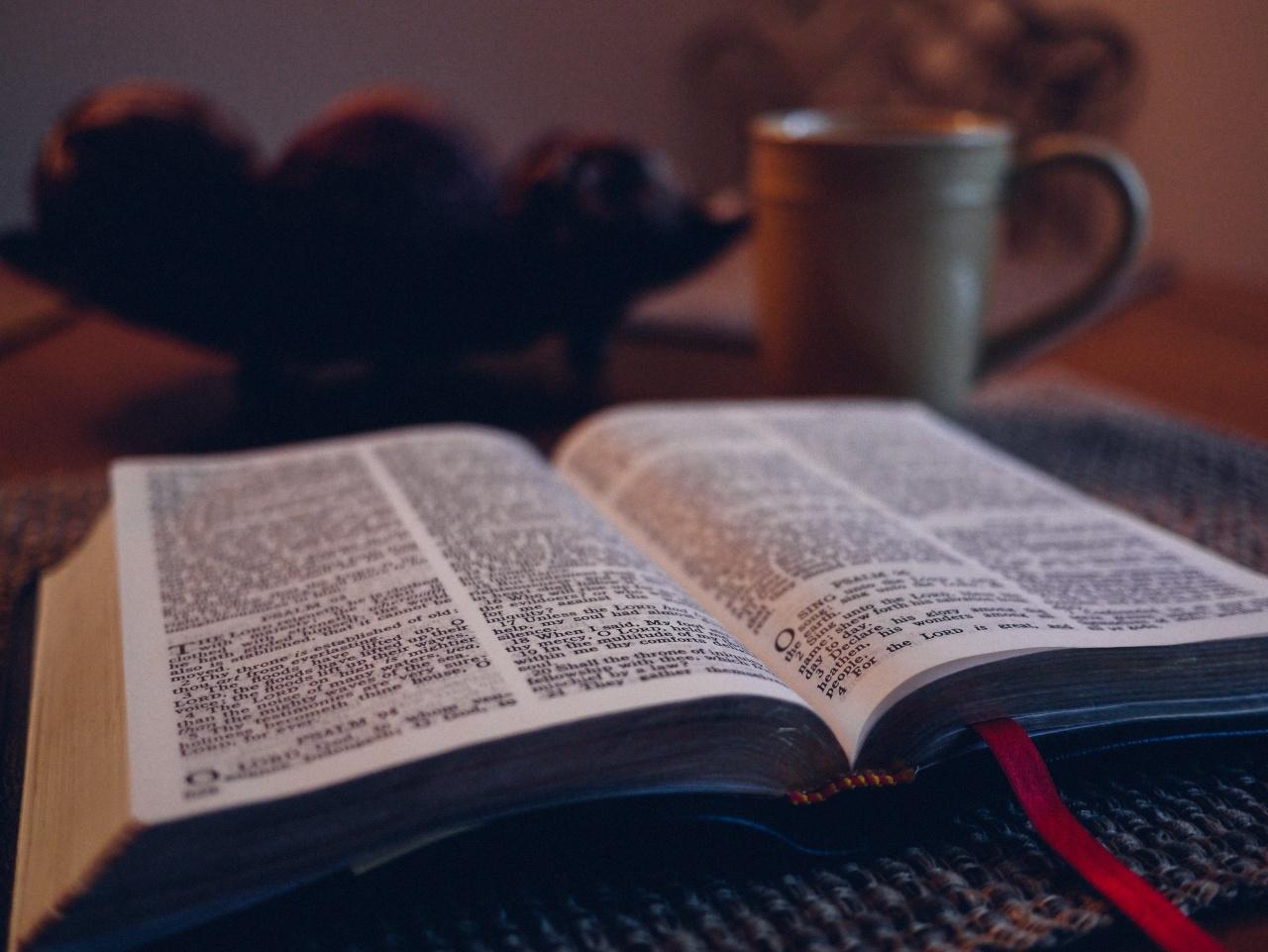 bible open